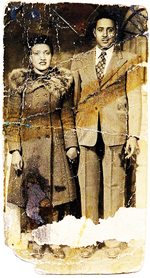 Henrietta and David Lacks In 1945