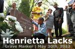 Henrietta Lacks Grave Marker