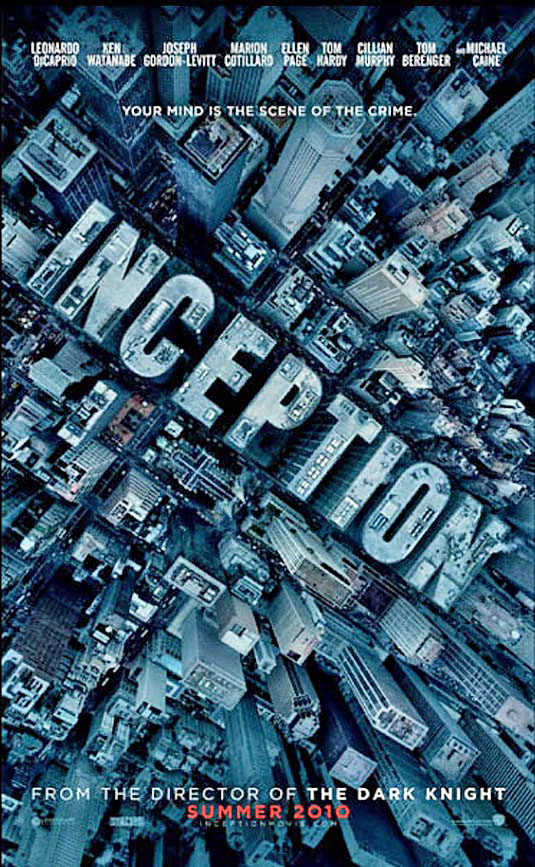 2010 Inception Poster