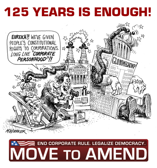 Move To Amend: End Corporate Rule