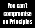 Sign: You Can't Compromise On Principles
