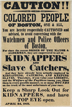 Slave Kidnapping Poster