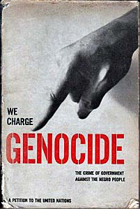 We Charge Genocide Cover
