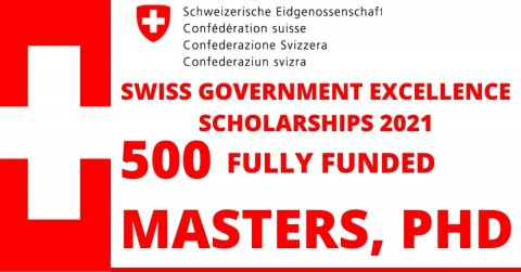 Swiss Government Excellence Scholarships 2021 Schoolgist.co.za