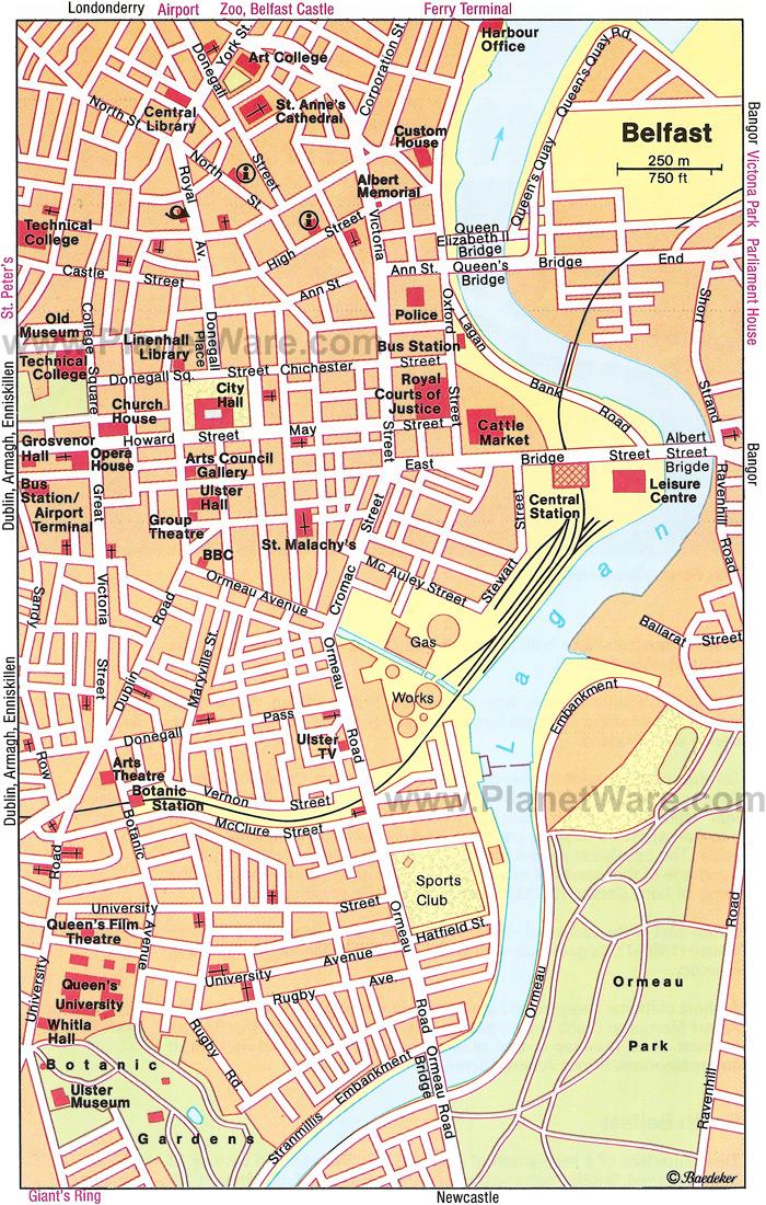 Stanley matthews way, stoke on trent, st4 4eg 01782 367598. Belfast Map and Belfast Satellite Image