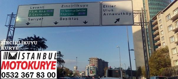 Zincirlikuyu Kurye, istanbulmotokurye.com