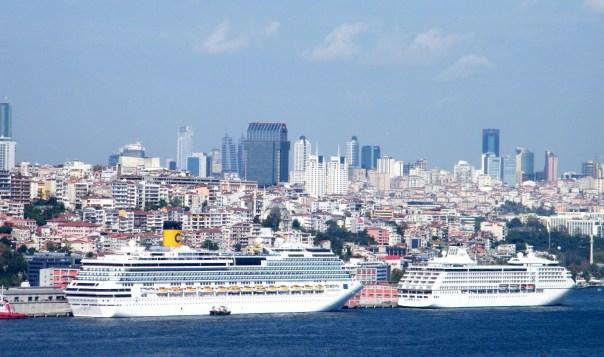 Kreuzfahrten Ziel Istanbul