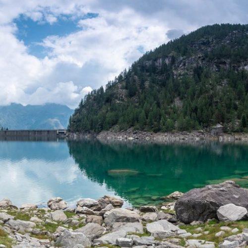diga di Campliccioli - campliccioli - lago di campliccioli - valle antrona - antronapiana - lago di antrona - istanti in viaggio