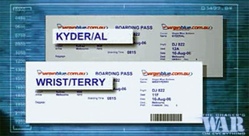 Al Kyder boarding pass