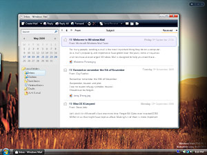 Windows Mail Long Zheng mockup