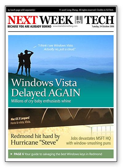 Next Week in Tech (Edition 1)