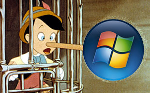 Pinocchio and Windows Vista