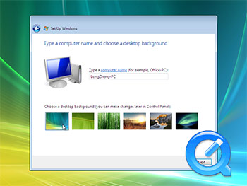 Windows Vista installation screencast