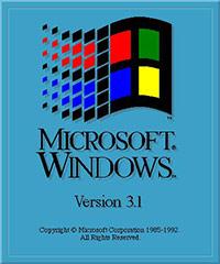 Windows 3.1 bootscreen