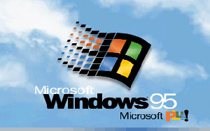 Windows 95 bootscreen