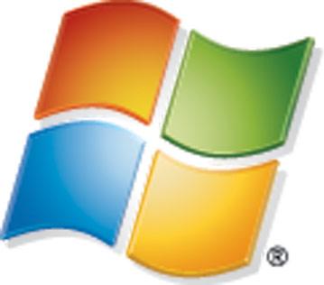 Microsoft logo low quality