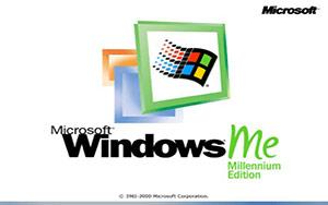 Windows ME bootscreen