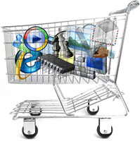 Windows shopping cart