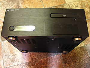 Velocity Micro Media Center PC case
