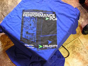 Velocity Micro shirt