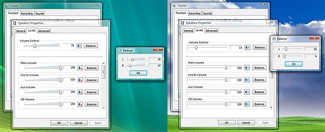 Windows Vista Sound Properties SP1