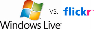 Windows Live vs. Flickr