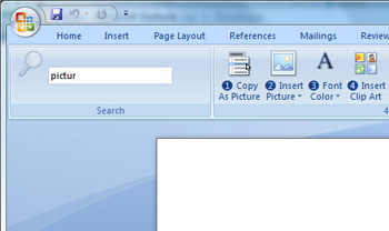 Office Search Commands