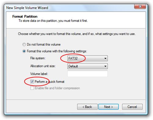 Tip: make your PDC 2008 (or any) USB hard drive a bootable