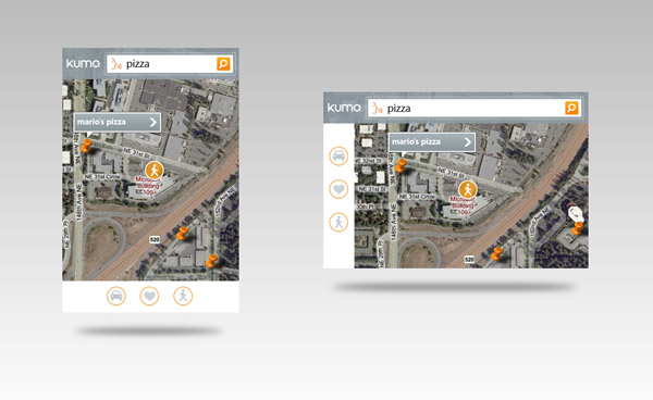 Bing mobile application concepts