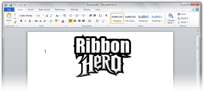 Ribbon Hero