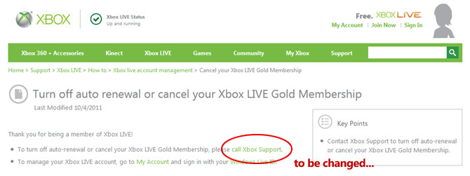 how to cancel xbox live subscription renewal