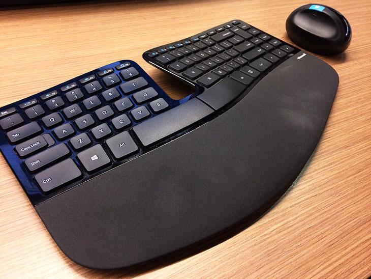 Microsoft Sculpt Ergonomic Desktop: falling in love with ergonomics