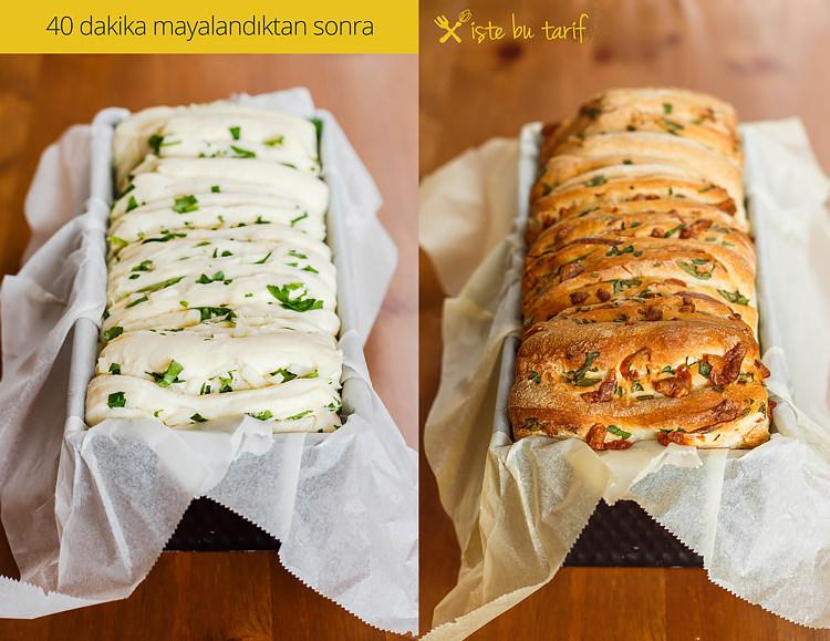 otlu dilimli ekmek