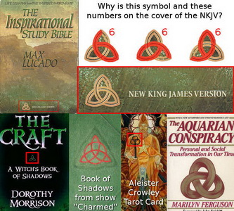 Trinity, triquetra and 666