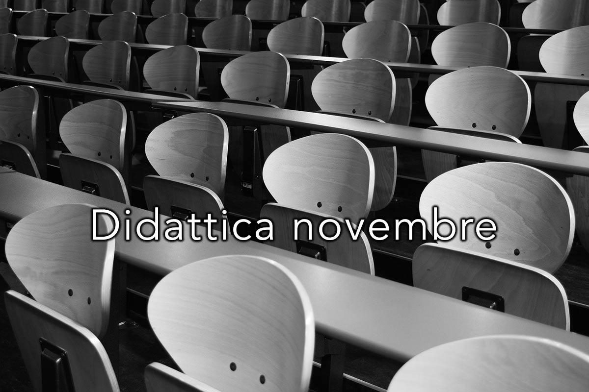 Didattica ultimo Dcpm mese di Novembre Istituto Sant'Apollinare