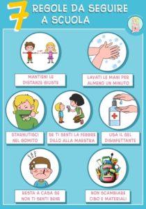 7 regole da seguire a scuola