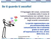 Istituto Fattorello - Comunicazione Non Verbale
