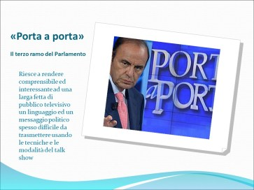 Istituto Fattorello - Spettacolarizzazione e personalizzazione della comunicazione politica 12