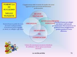 Istituto Fattorello - La Vendita Perfetta 74