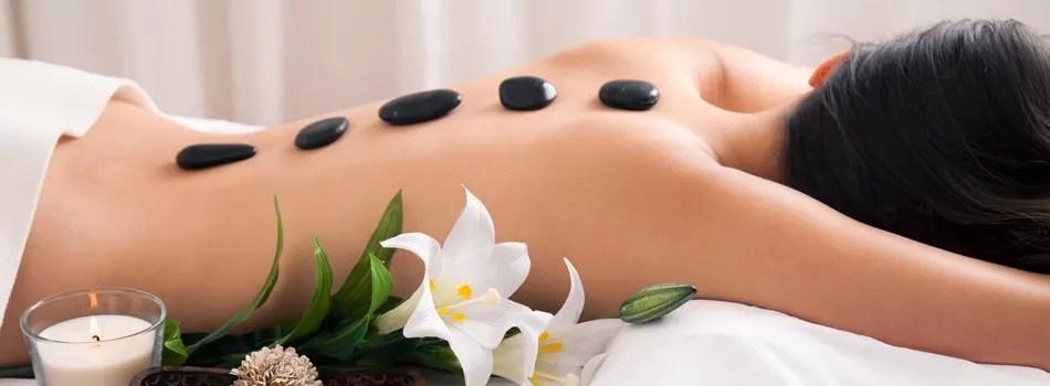 hot stone massage la spezia centro estetico paradise