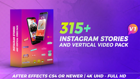 Instagram Stories & Vertical Video Pack