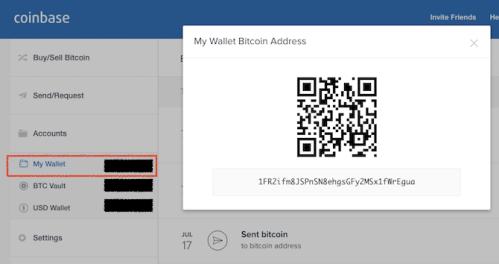 coinbase adresa