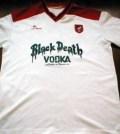 Tricou Scarborough cu sponsorul Black Death Vodka