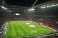 Wembley - in timpul meciului Anglia - Franta , scor 1-2