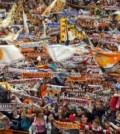 Fanii Valenciei pe Mestalla