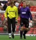 Massimo Taibi consolat de Jack Dawes la finalul meciului cu Southampton