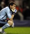 Real Madrid's Spanish goalkeeper Iker Casillas
