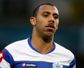 Queens Park Rangers' Anton Ferdinand wears a moustache for 'Movember'