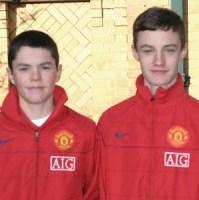 fratii Keane de la United in copilarie