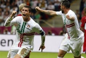 Soccer Euro 2012 Czech Republic Portugal 1